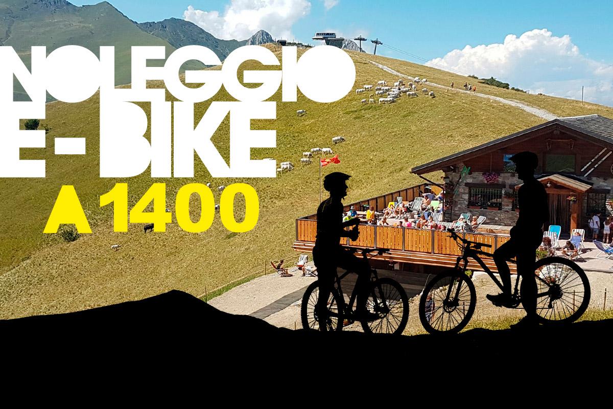 Apre il noleggio e-bike Bottero Ski a 1400