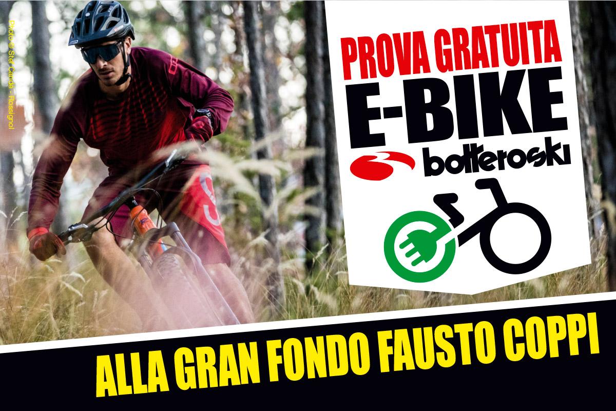 Vieni alla Fausto Coppi e prova una E-Bike!