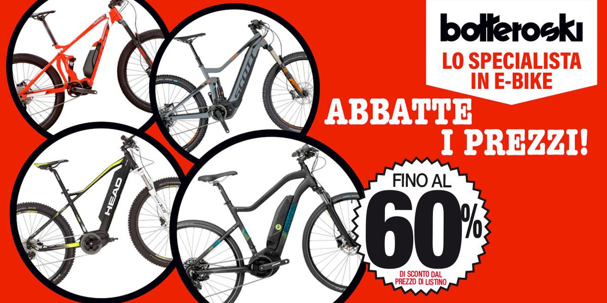 Bottero Ski, lo specialista in e-bike, abbatte i prezzi!