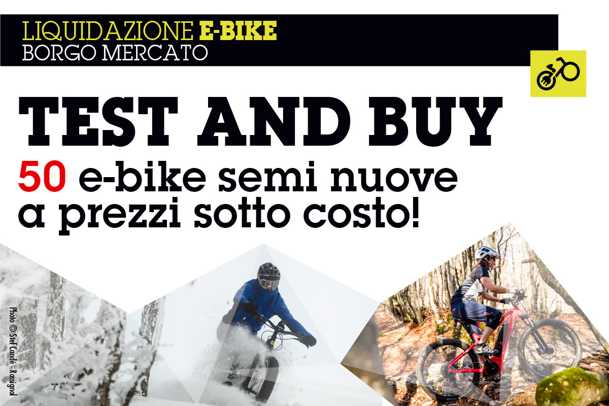 Test and buy: scegli la tua e-bike da Bottero Ski