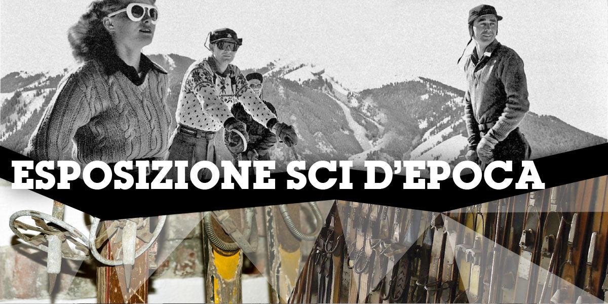 ski & bike expo esposizione sci antichi