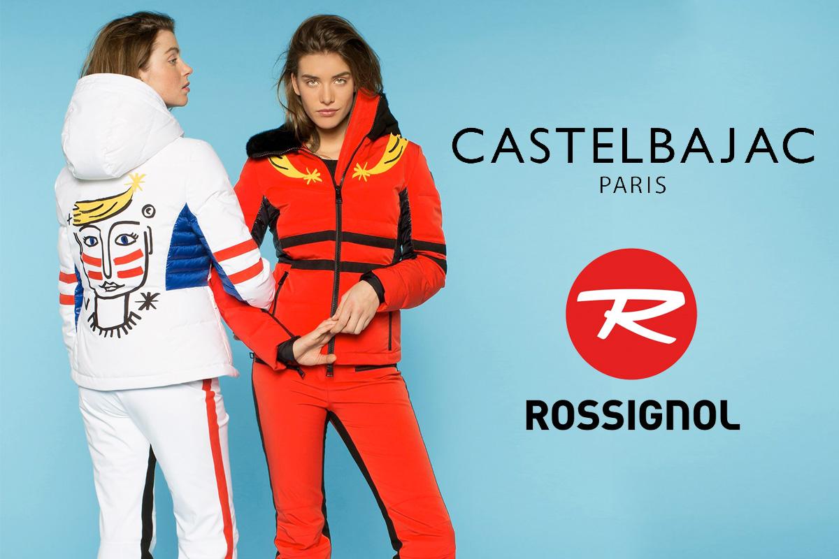 JC de Castelbajac per Rossignol: lo stile sulle piste da sci