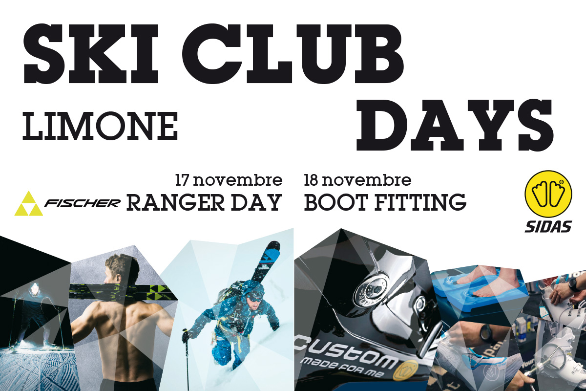 Ski Club Days: appuntamento il 17 e 18 novembre
