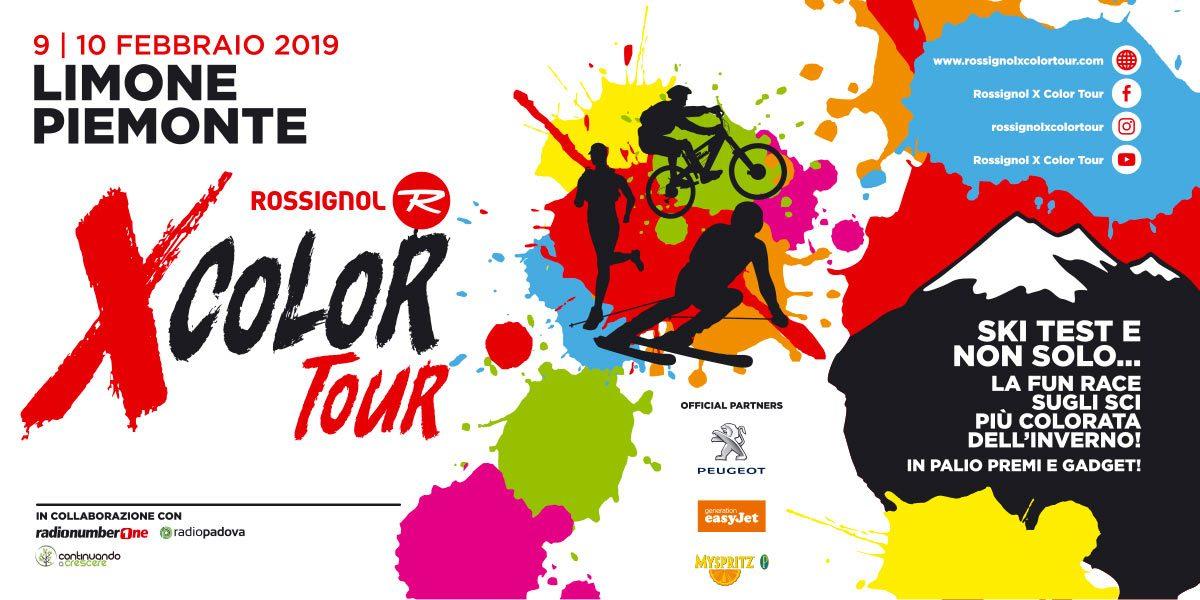 X-Color Tour Rossignol: appuntamento il 9 e 10 febbraio