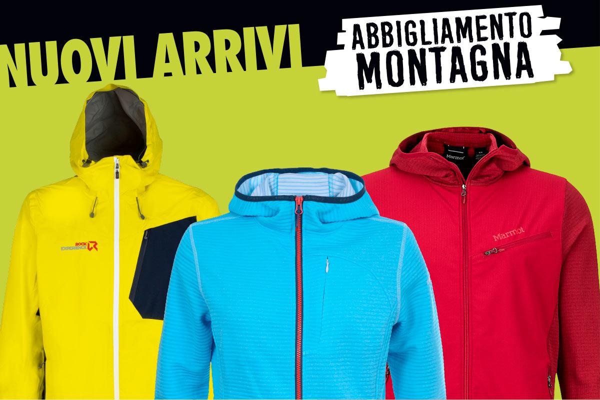 Nuovi arrivi abbigliamento montagna a Borgo2000