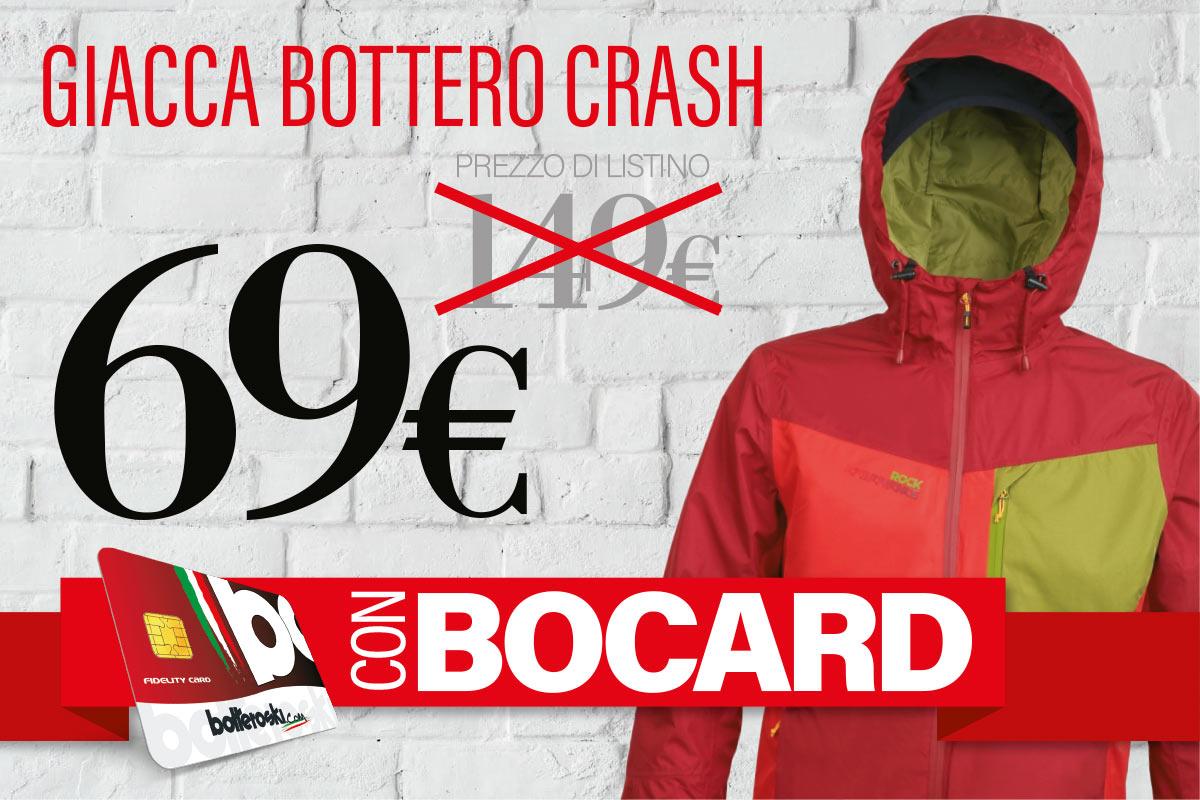 Giacca Trekking Botteroski Crash 5 a soli 69 Euro