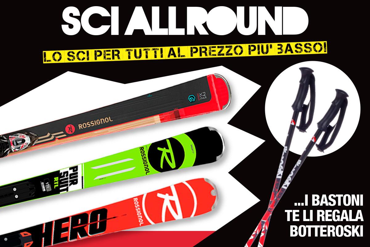 Sci Allround: lo sci per tutti al prezzo più basso