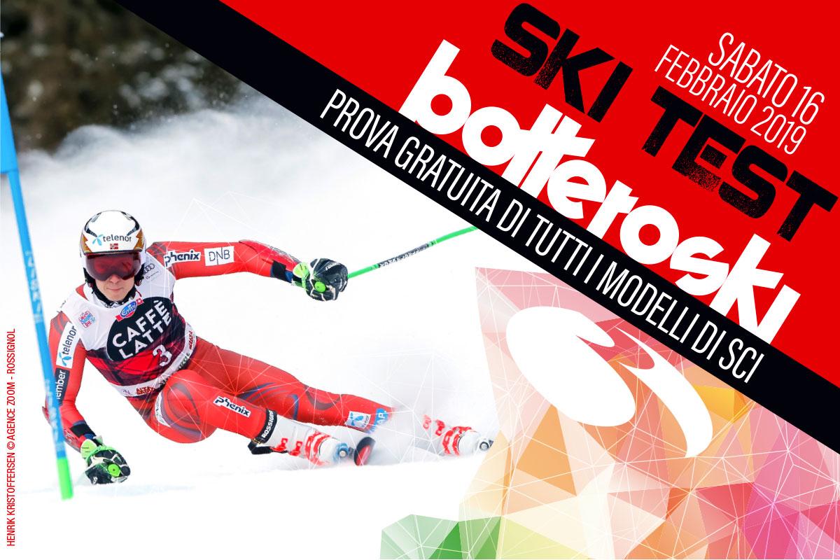 Ski test Botteroski 16 febbraio 2019