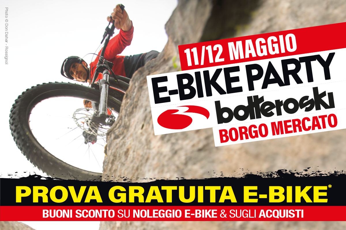 E-Bike Party, 11 e 12 maggio 2019