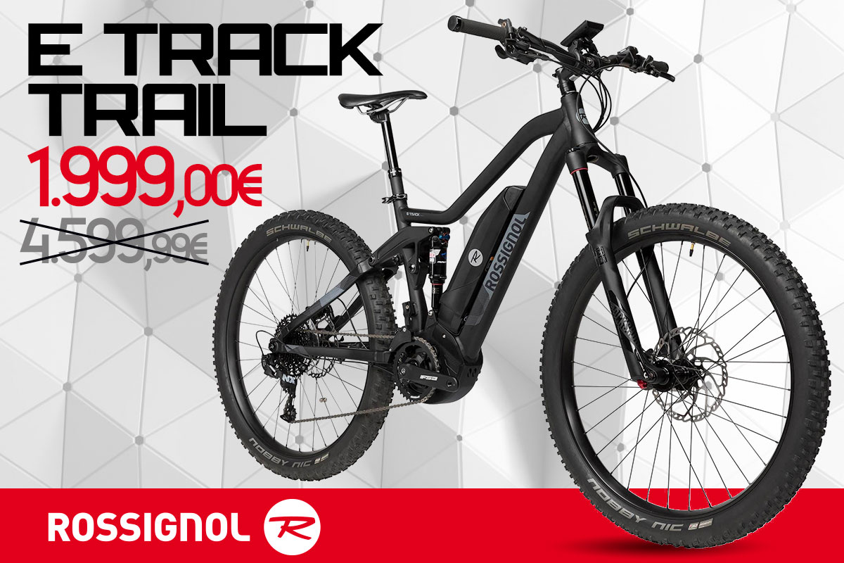 Occasione irripetibile, E-Track Trail by Rossignol a 1.999 €