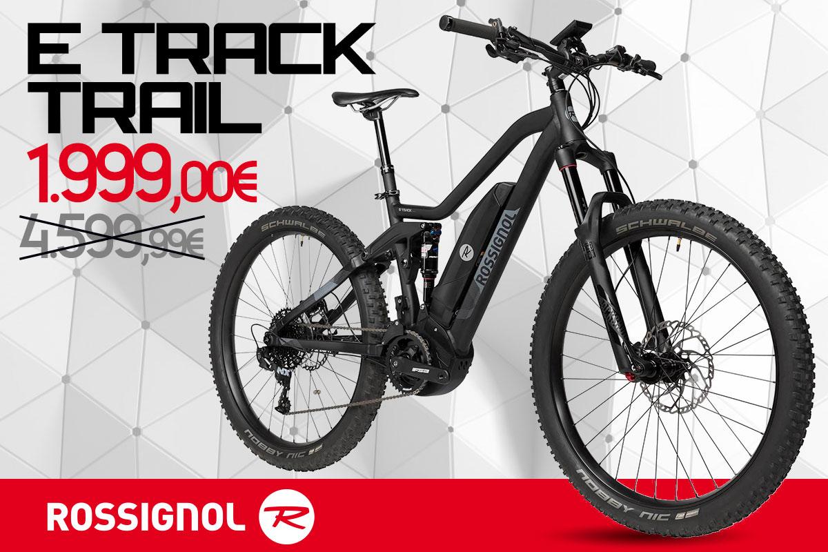 Occasione irripetibile, E-Track Trail by Rossignol a 1.999 €