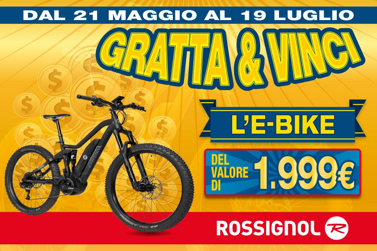 Vinci e bike rossignol