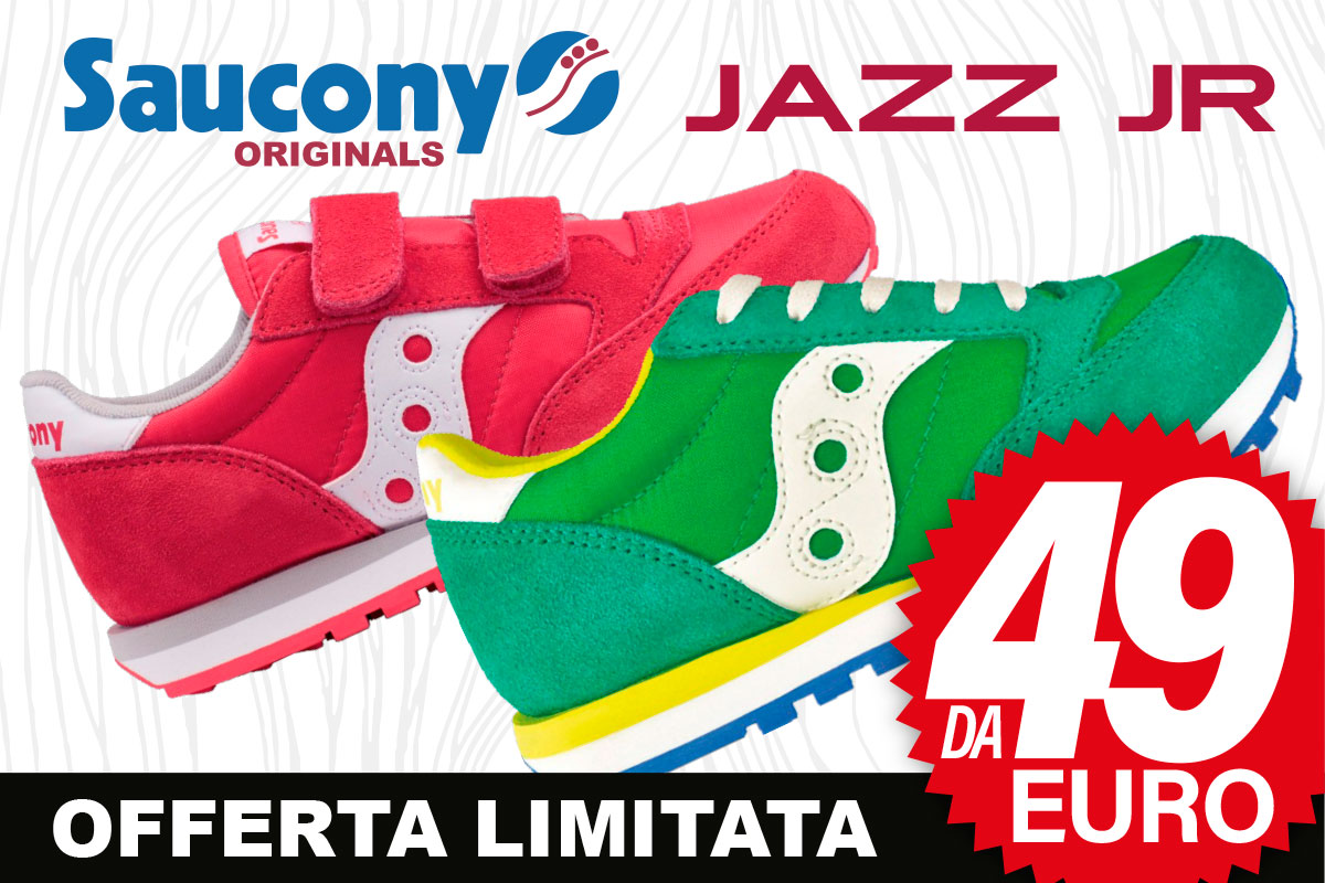 SAUCONY junior da 49€, offerta imperdibile e limitata