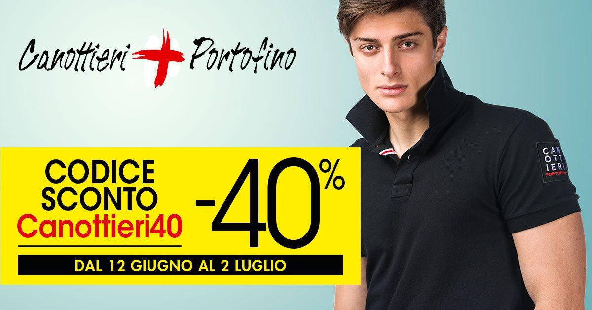 CANOTTIERI PORTOFINO scontati del 40%