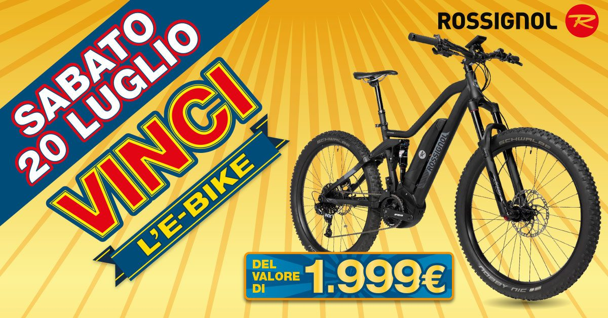 Sei pronto per vincere la e-bike Rossignol?
