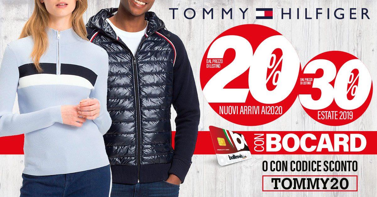 Promozione Tommy Hilfiger – Inverno 2020