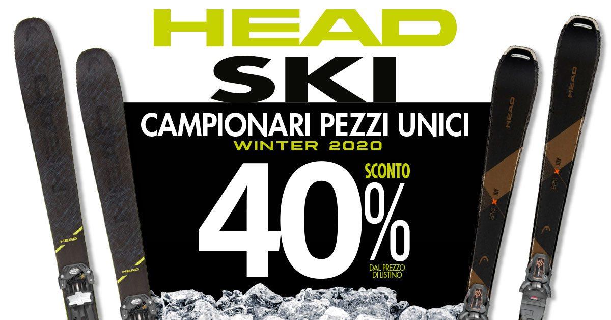Head campionario sci – 40%!