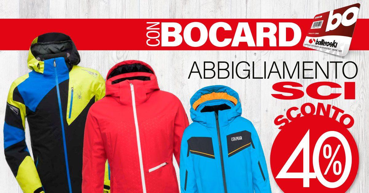 Abbigliamento sci in sconto a Vernante con Bocard