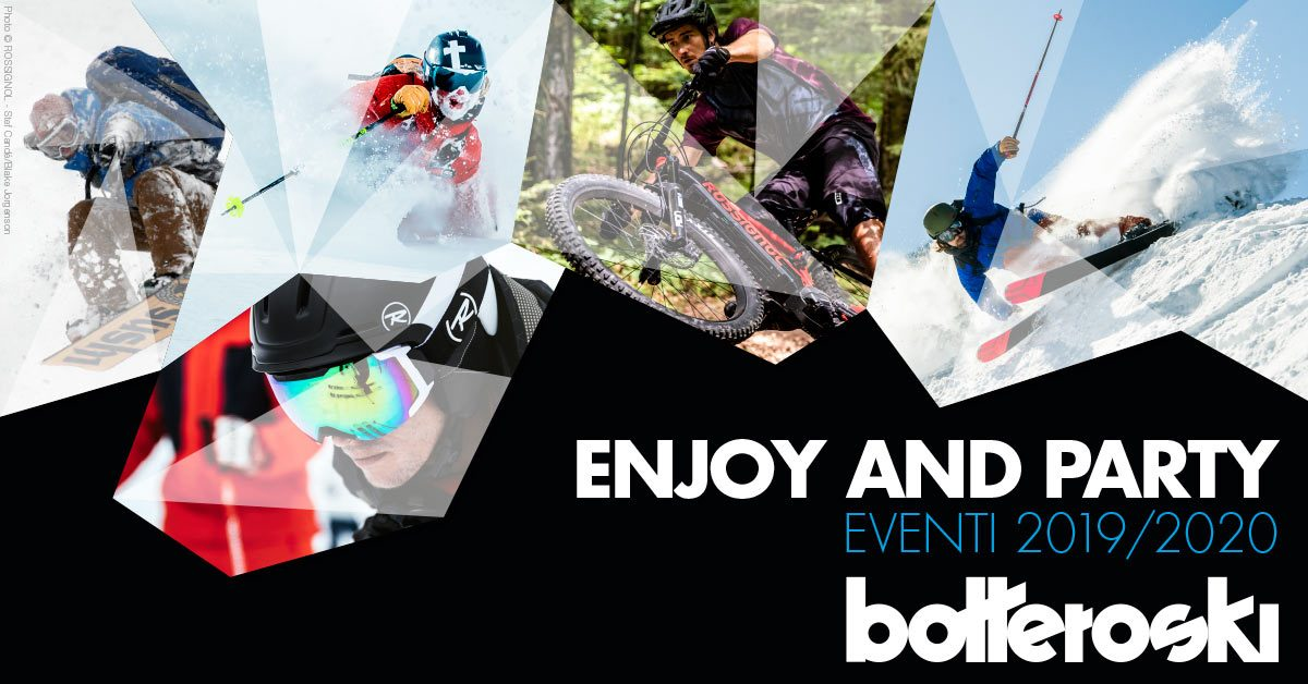 Enjoy & Party: gli eventi dell'autunno Bottero Ski