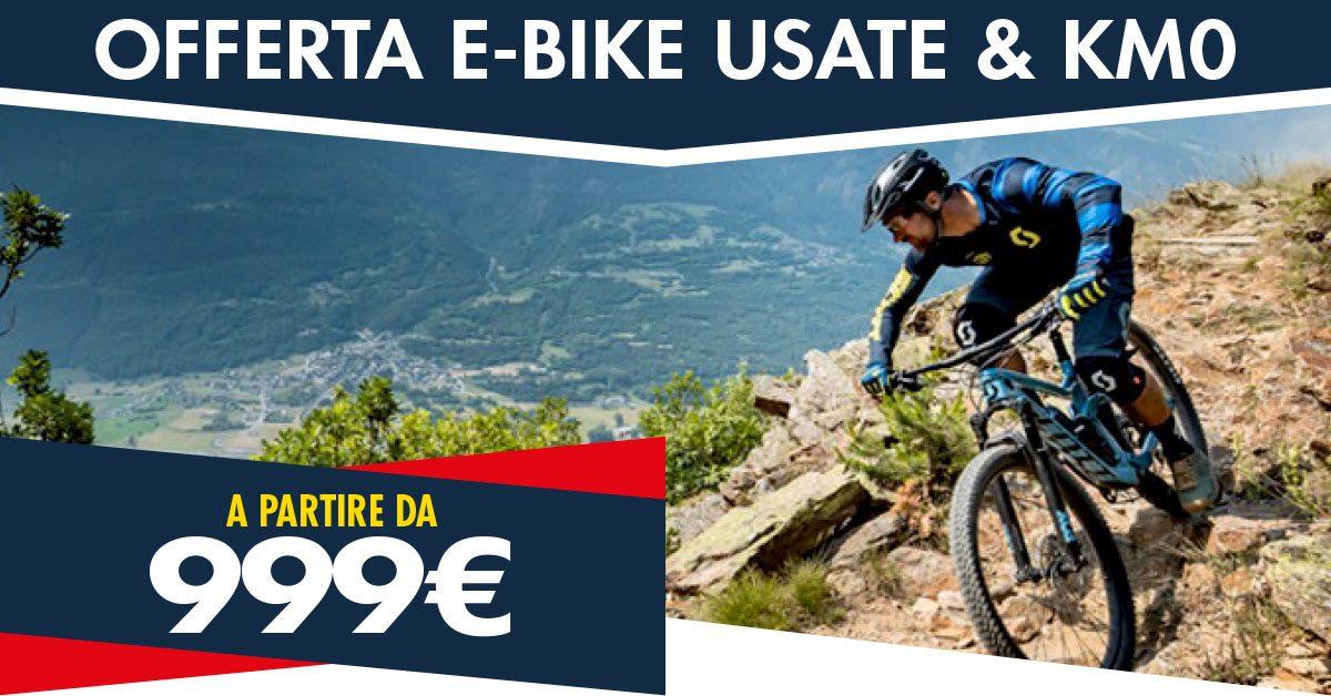 Super offerta e-bike usate!