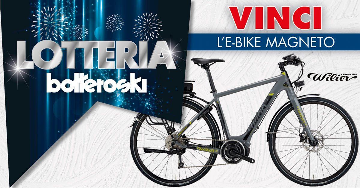 Vinci la e-bike con Bottero Ski!