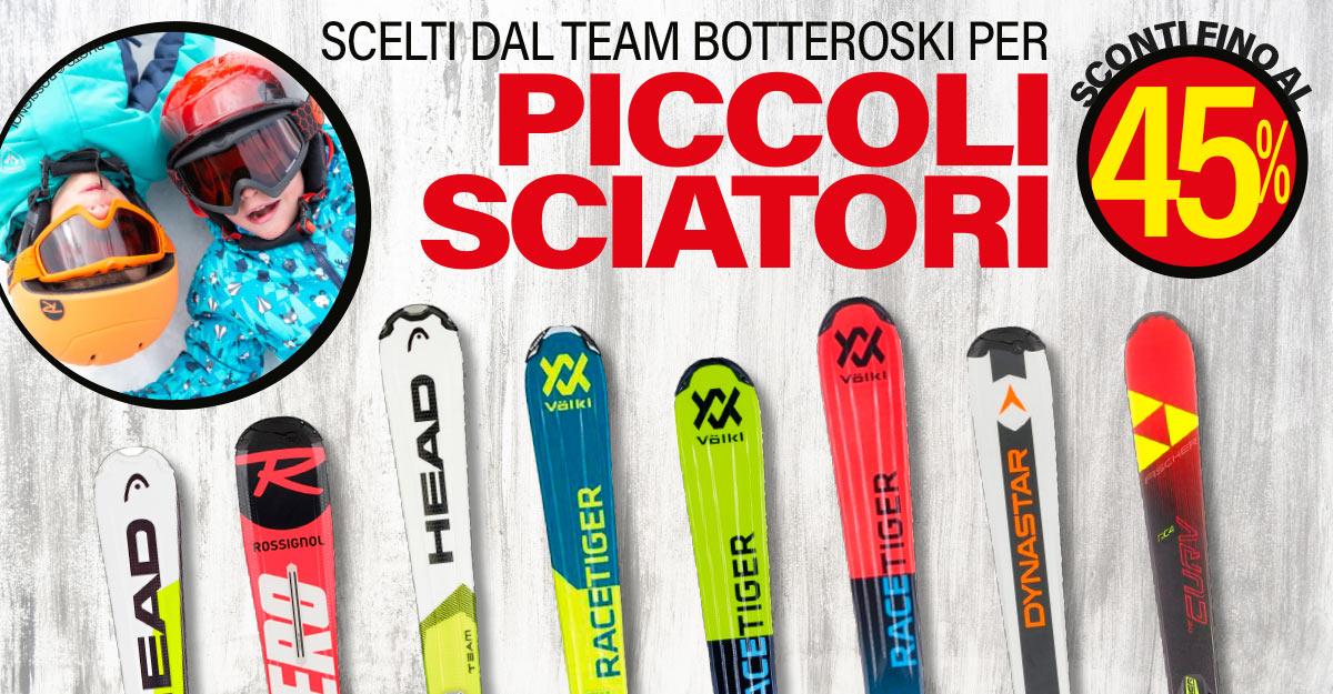 Sci junior consigliati dagli istruttori Bottero Ski