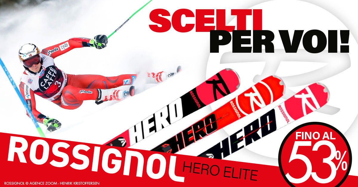 Sci Rossignol Hero Elite - Scelti per voi