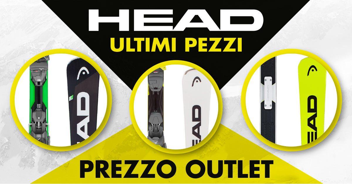 Head a prezzi outlet!