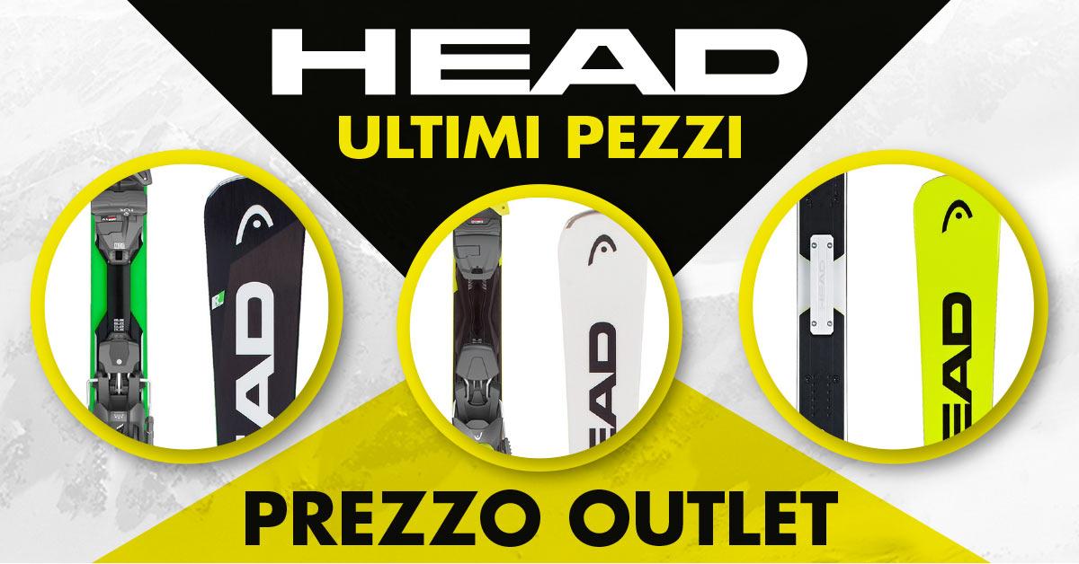 Sci Head: ultimi pezzi a prezzo outlet