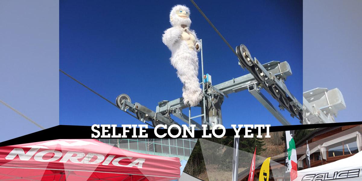 selfie con lo yeti