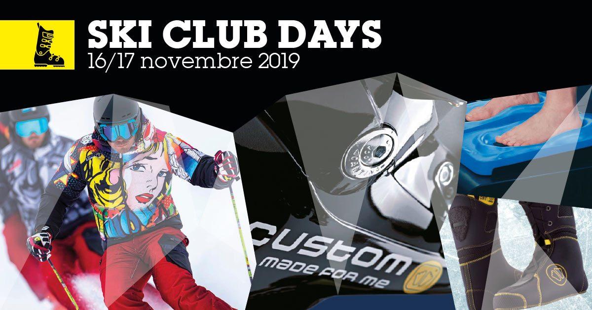 Ski Club Days: vi aspettiamo il 16 e 17 novembre