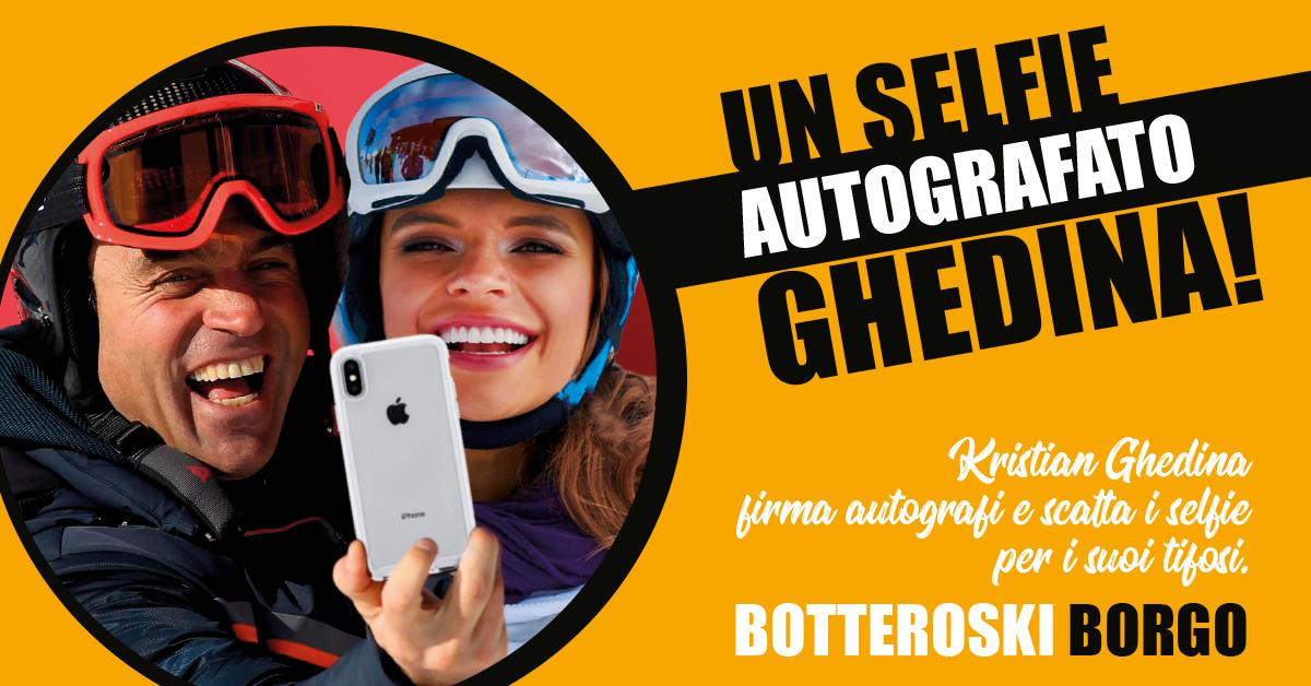 Un Selfie con Kristian Ghedina!
