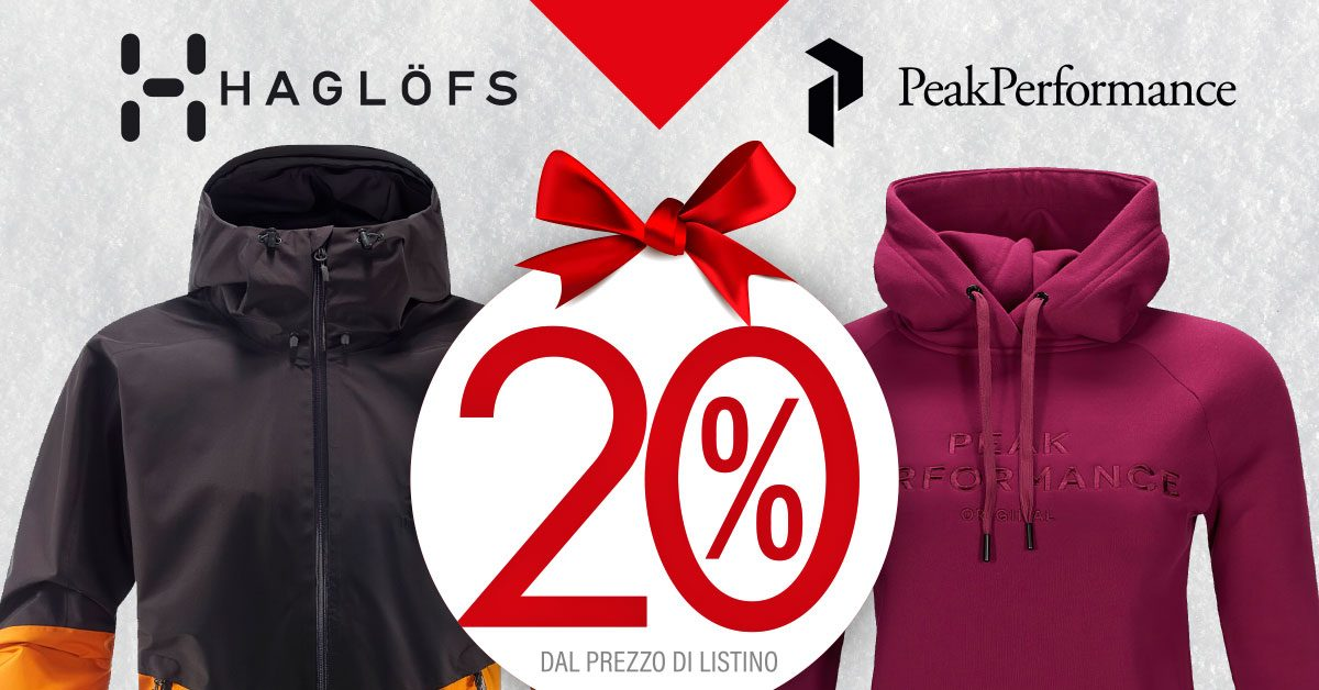 Haglofs e Peak Performance – Bottero Ski Christmas Gift