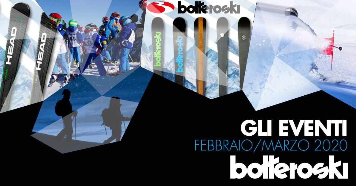 I prossimi appuntamenti da Bottero Ski!