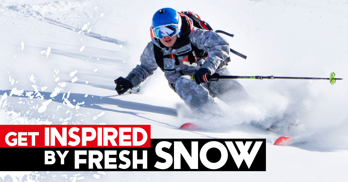 freeride fresh snow - i'm an image