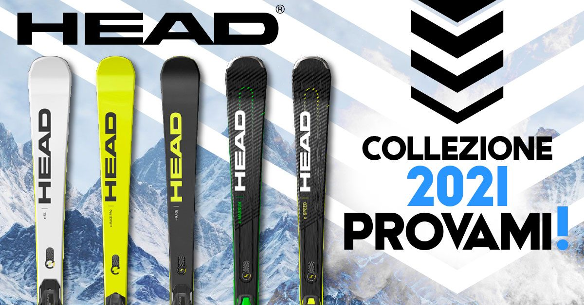 Sci Head 2021 disponibili in negozio!
