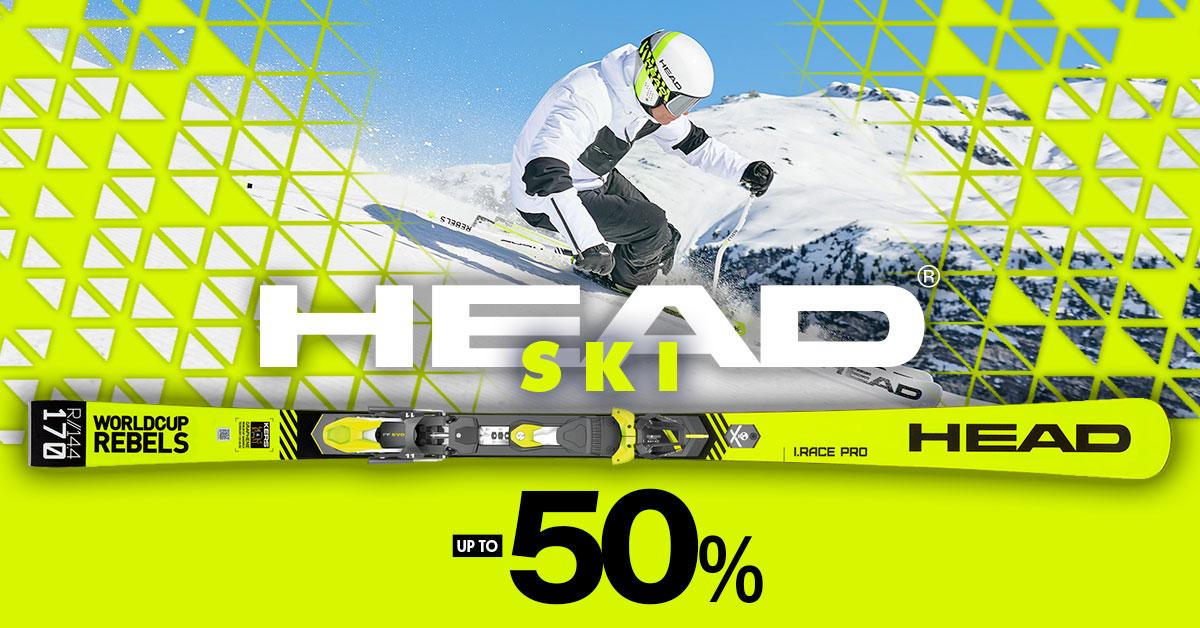 4 DAYS HEAD -50%!