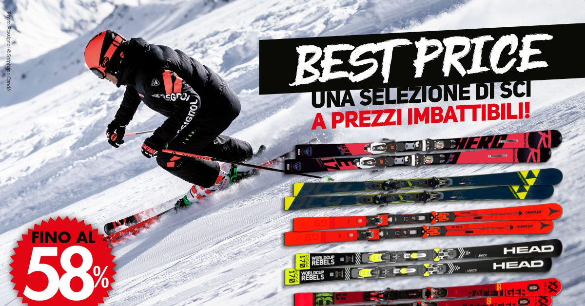 Ski: the best price!